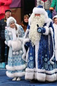 Деде Мороз и Снегурочка