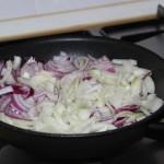 Freír la cebolla
